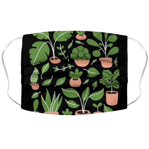 Plant Daddy Accordion Face Mask