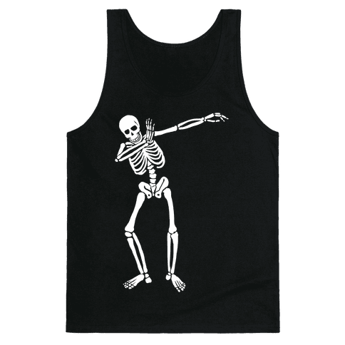 Dabbing Skeleton Tank Top