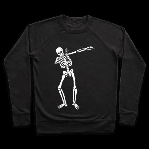 Dabbing Skeleton Pullover