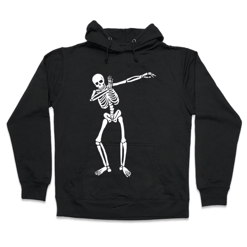 Dabbing Skeleton Hooded Sweatshirt