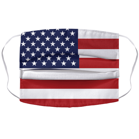 American Flag Face Mask Cover