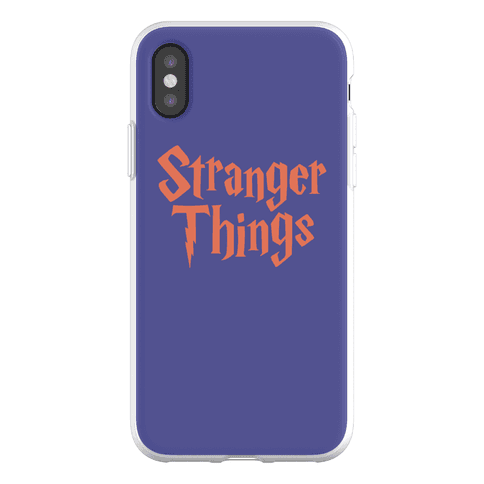 Stranger Harry Things Potter Phone Flexi-Case