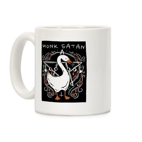 Honk Satan Goose Coffee Mug