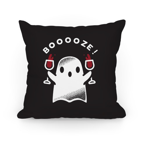 Booooze Pillow