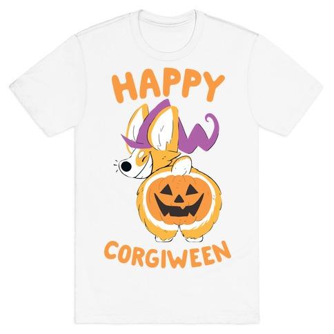 Happy Corgiween! T-Shirt