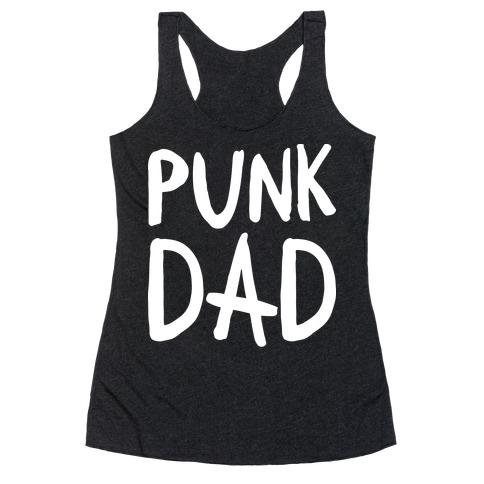 Punk Dad Racerback Tank Top