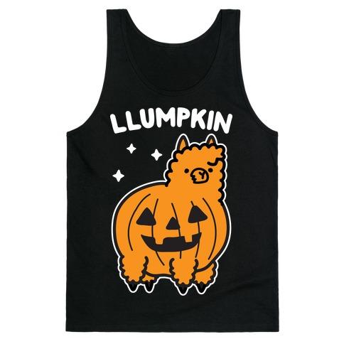 Llumpkin Llama Pumpkin Tank Top