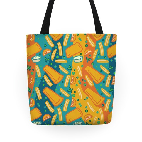 Groovy Fish And Chips Tote