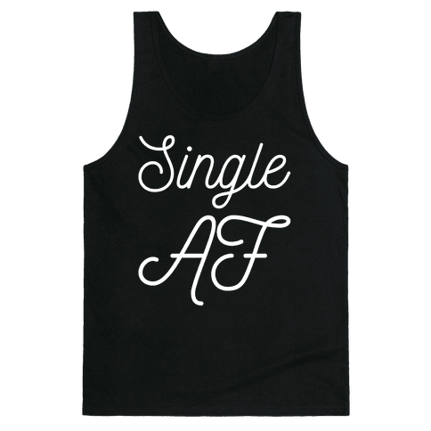 Single AF Tank Top
