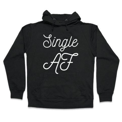 Single AF Hooded Sweatshirt