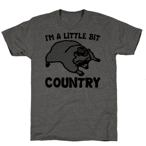I'm A Little Bit Country She's A Little Bit Garbage Pairs Shirt Mens T-Shirt