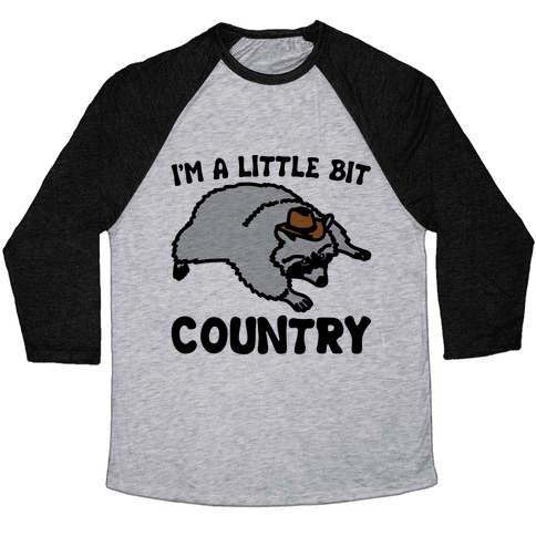 I'm A Little Bit Country She's A Little Bit Garbage Pairs Shirt Baseball Tee
