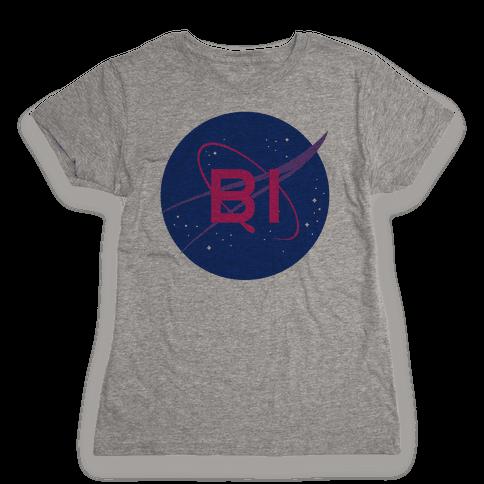 Bi Nasa Womens T-Shirt