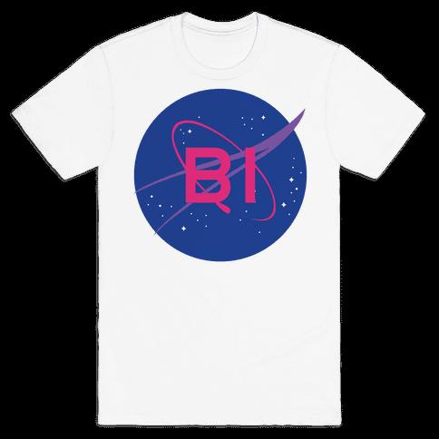Bi Nasa Mens T-Shirt