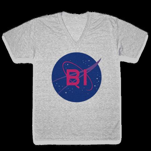 Bi Nasa V-Neck Tee Shirt