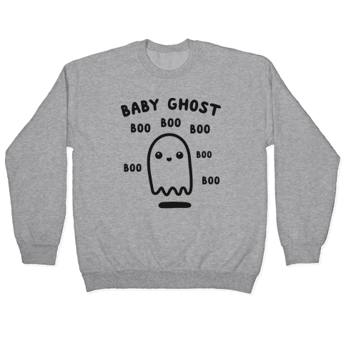 Baby Ghost Boo Boo Boo Pullover