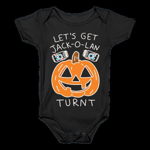 Let's Get Jack-O-Lanturnt Baby Onesy