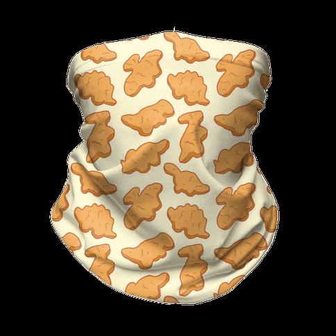 Dino Nuggies Pattern Neck Gaiter