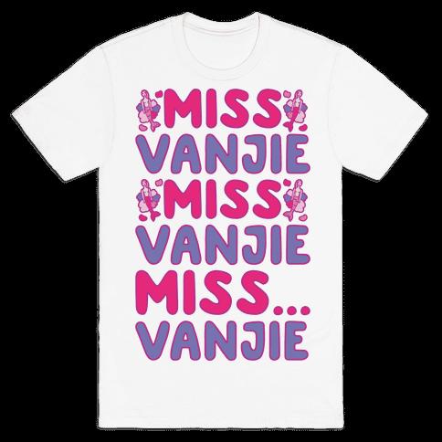 Miss Vanjie Parody Mens T-Shirt