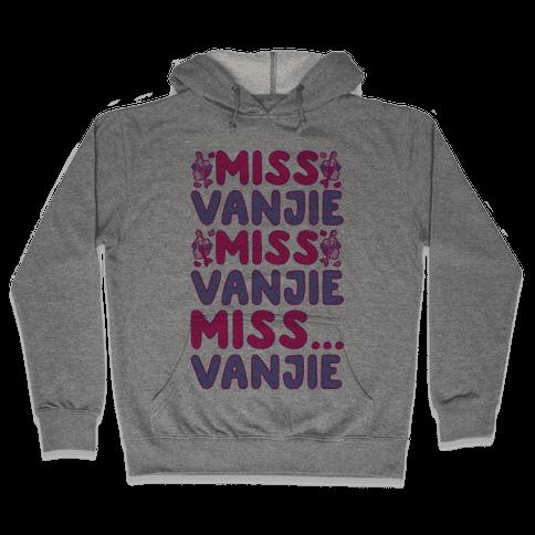 Miss Vanjie Parody Hooded Sweatshirt