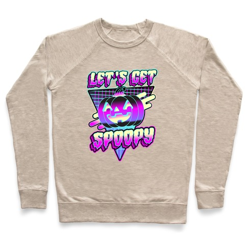 Retrowave Let's Get Spoopy Pullover