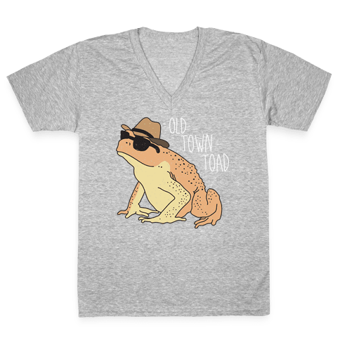 Old Town Toad V-Neck Tee Shirt