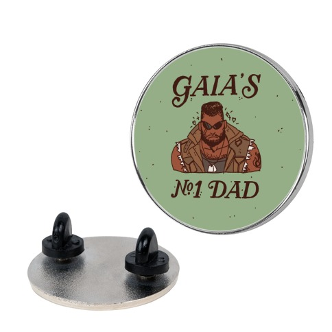 Gaia's Number 1 Dad Pin