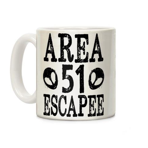 Area 51 Escapee Coffee Mug