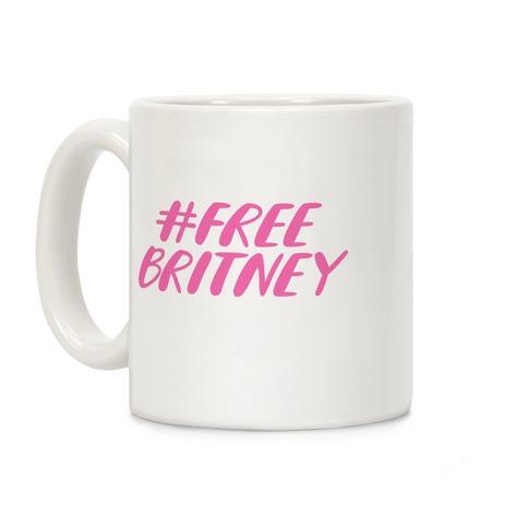 Free Britney Coffee Mug