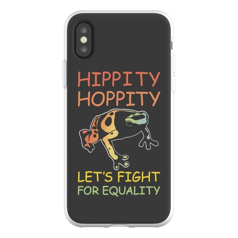 Hippity Hoppity Let's Fight For Equality Phone Flexi-Case