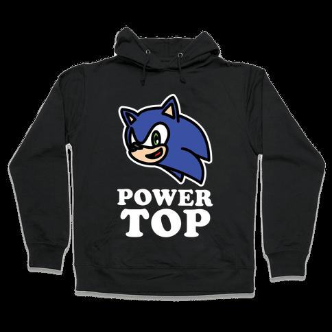 Power Top Hooded Sweatshirt