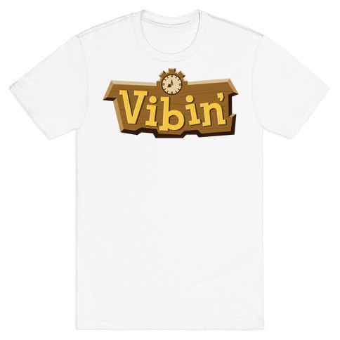 Vibin' Animal Crossing Parody T-Shirt