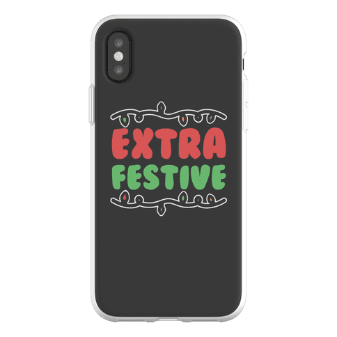 Extra Festive Phone Flexi-Case