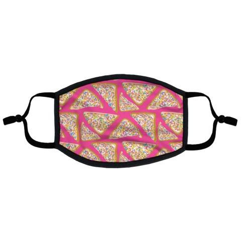 Fairy Bread Pattern Flat Face Mask