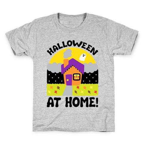 Halloween At Home Kids T-Shirt