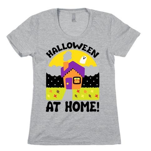 Halloween At Home Womens T-Shirt