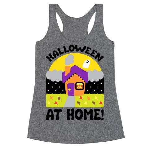 Halloween At Home Racerback Tank Top