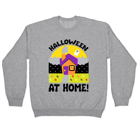 Halloween At Home Pullover