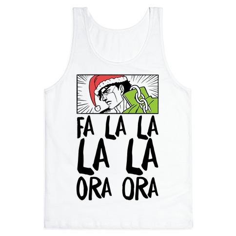 Fa La La La La Ora Ora - Jotaro Tank Top