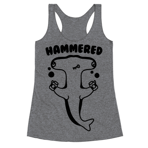Hammered Racerback Tank Top