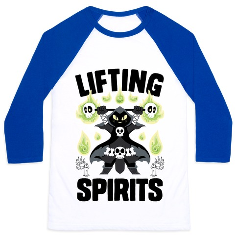 Lifting Spirits Baseball Tee