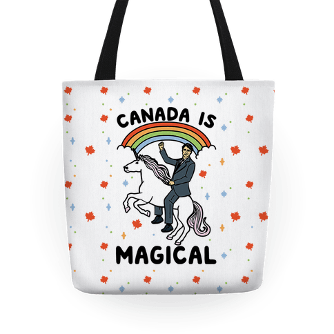 Canada Is Magical  Tote