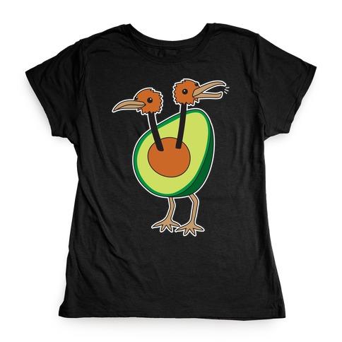 Avocadoduo (Avocado Doduo Parody) Womens T-Shirt