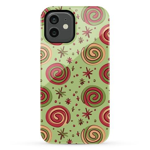 Christmas Pinwheel Cookies Phone Case