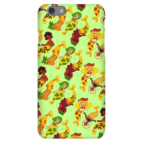 Pizza Mermaids Phone Case