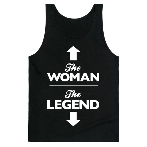 The Woman, The Legend Tank Top