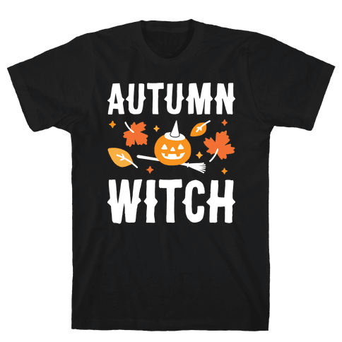 Autumn Witch Mens T-Shirt
