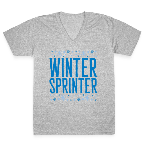 Winter Sprinter V-Neck Tee Shirt