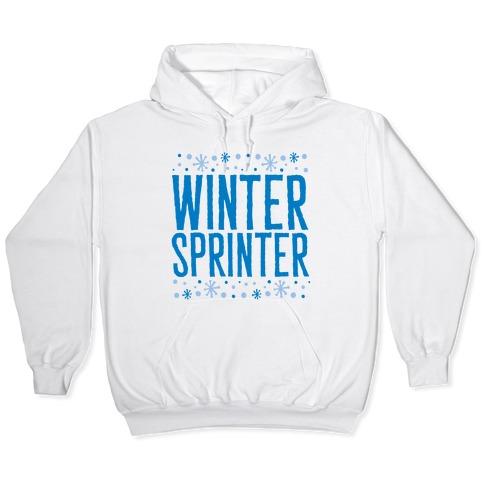Winter Sprinter Hooded Sweatshirt