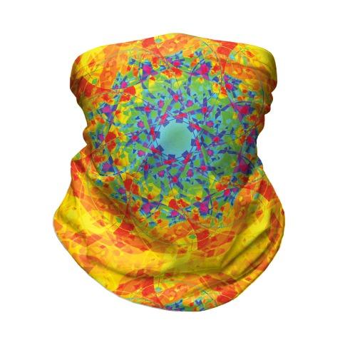 Psychadelic Mandala Neck Gaiter